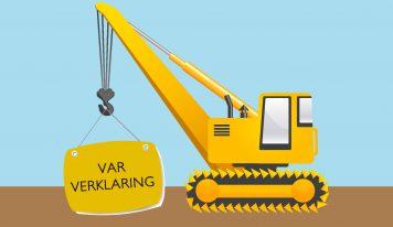 שינויים בהצהרת יחסי עבודה (VAR verklaring)