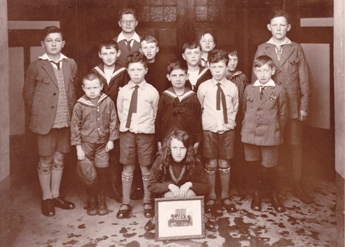 kids in the war