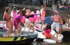 Adam Groffman, Amsterdam Pride Parade 2014