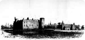 טירת דה האאר ב-1862 (C.B. van der Tak, - libserv.tudelft.nl)