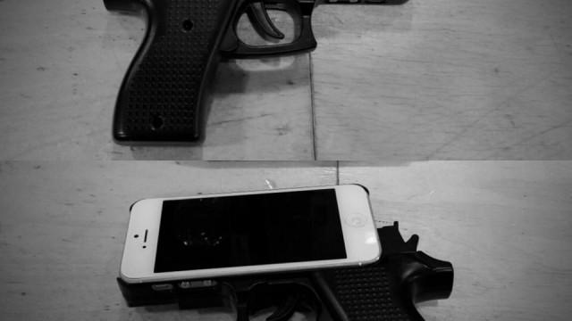 כיסוי האייפון המסוכן (מתוך עמוד הפייסבוק של משטרת רוטרדם)
