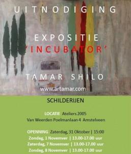 Uitnodiging Expo Tamar Shilo