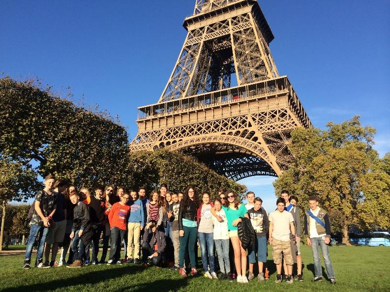 """טיול נצ""""ר לפריז בשנה שעברה"""