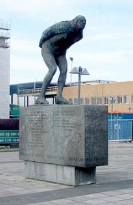 Statue Leeuwarden