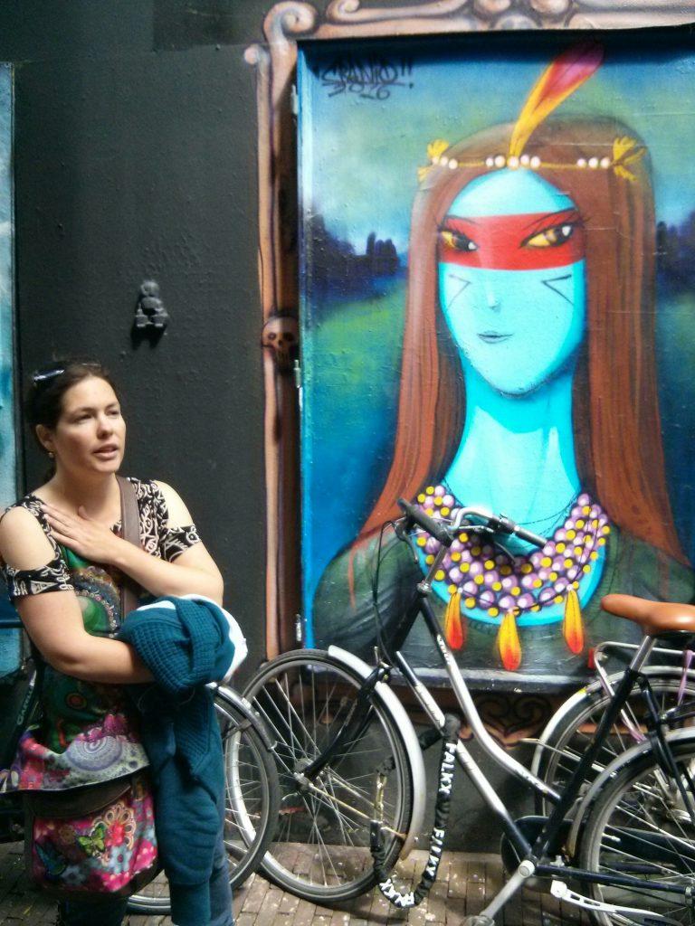StreetArt Hila and pocahontes