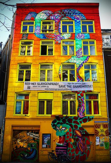 StreetArt Snakehouse Marlo Oreste Flickr