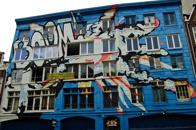 StreetArt Vrankrijk Pascal Tran Flickr