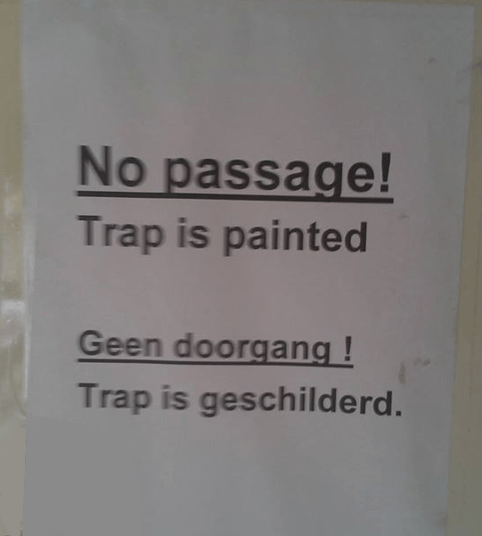 dunglish trap
