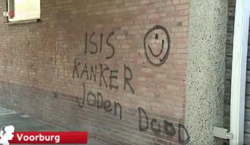 דאצ'ניוז: גרפיטי נגד יהודים, איומים על פרו-פלסטינית