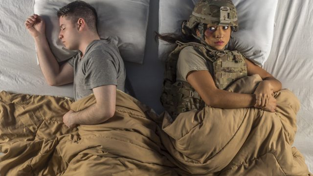 """Rosemary Freitas Williams, deputy assistant secretary of defense for Military Community and Family Policy, stated in an Oct. 14, article on dodlive.mil that domestic violence prevention """"starts with respect – specifically, to hold in esteem or honor, to show regard or consideration for someone's rights or preferences."""" Not by accident, each of the military services has a set of core values to live by; they include the words """"respect,"""" """"service before self,"""" or """"honor."""" Just as each service branch has its set of core values, so should every relationship, personal or professional. The Department of Defense is committed to preventing domestic abuse, encouraging prompt reporting, supporting victims and providing appropriate treatment or intervention for all family members affected by the sad business of abuse. - for more information http://www.dodlive.mil/index.php/2015/10/domestic-violence-prevention-everyone-deserves-a-life-free-of-abuse/#sthash.wlqiIYbF.dpuf (U.S. Air Force photo/Justin Connaher)"""