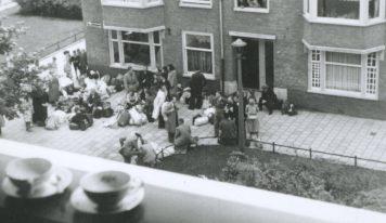 התמונה שצולמה מחלון הבית שלי באמסטרדם, אז