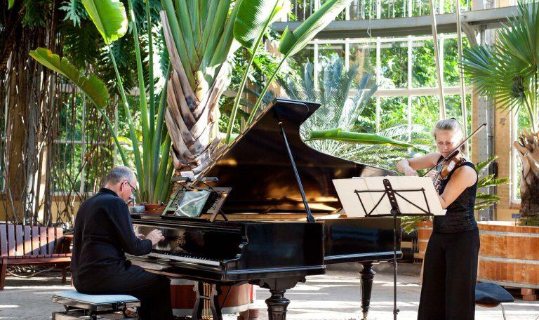 קונצרטים קלאסיים בחמישה גנים בוטניים ברחבי הולנד (hortus festival fotograaf Anne Meyer)