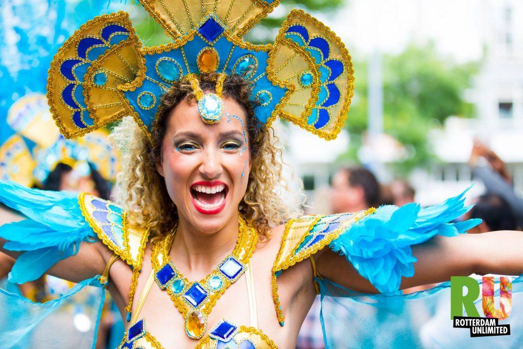 הקרנבל הוא חלק מסדרת אירועים שנועדה לחגוג את המגוון התרבותי ברוטרדם (מתוך אתר הקרנבל)