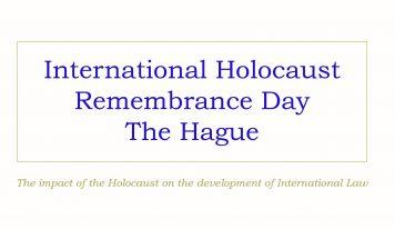 יום השואה הבינלאומי – הרצאה – האג