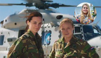 גיוס בהולנד – מעכשיו גם לנשים, הנסיכה קיבלה צו