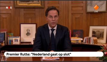 רוטה: הולנד תהיה נעולה למשך חמישה שבועות