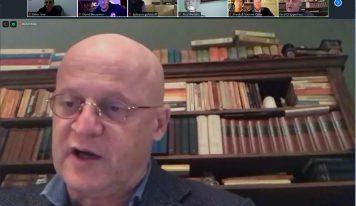 ״האנטישמיות היא מפלצת רבת ראשים״, השר חרפרהאוס במפגש לקהילה היהודית