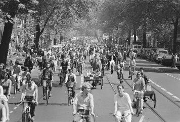 הולנד – יותר אופניים מאנשים