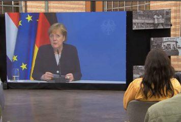 קנצלרית גרמניה: ״לעולם לא נשכח שהולנד הגיעה אלינו. תמיד נהיה אסירי תודה״