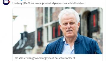 דאצ'ניוז: כתב פלילי ידוע נורה במרכז אמסטרדם