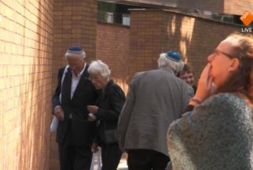 נחנכה אנדרטת השמות באמסטרדםלקורבנות השואה בהולנד